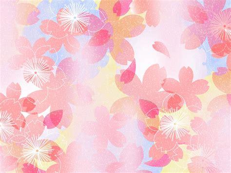 wallpaper sweet flower colors in japanese style sweet flower pattern design