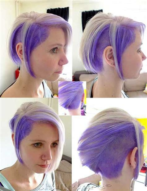 2 town hair color styles two tone hair color for short hair short hairstyles 2016