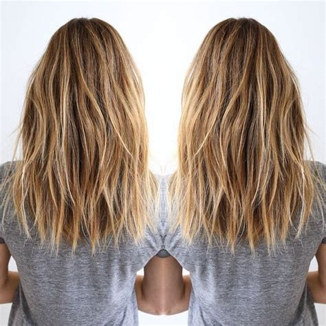 back view of texturized lob lob blonde long bob pinterest supgeegee hair