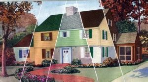 glidden quot age of color quot brochure historic house colors