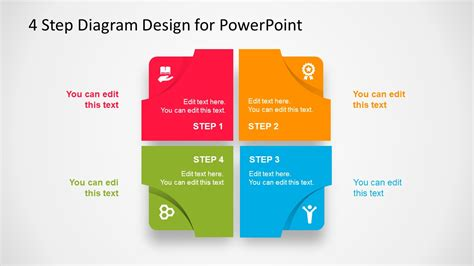 powerpoint layout with 4 pictures powerpoint template design edit images powerpoint