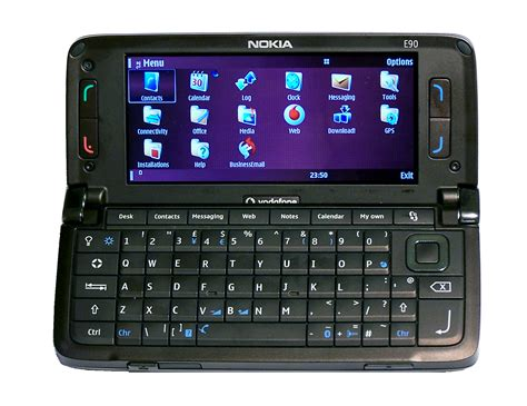 Flexibel Ui Up Nokia E90 nokia e90 communicator