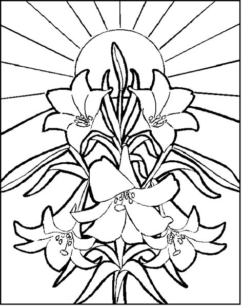 easter coloring pages for church easter colouring religious easter colouring pages
