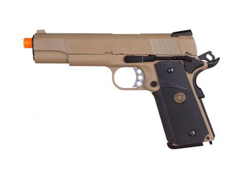 Airsoft Gun Pistol Metal we metal 1911 meu desert gas pistol airsoft guns