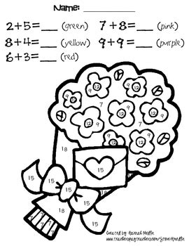 Math Touch Points On Pinterest Touch Math Math Coloring Pages With Math Problems