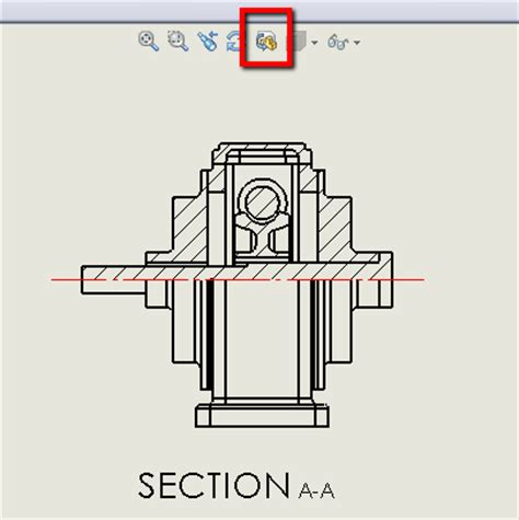 solidworks rotate section view tip 3d partial section view the solidapps blog