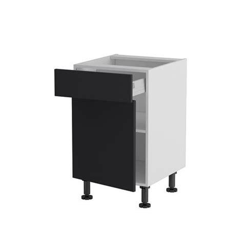 meuble cuisine 馥 50 meuble cuisine bas 50cm 1 tiroir porte 50 70 nu achat