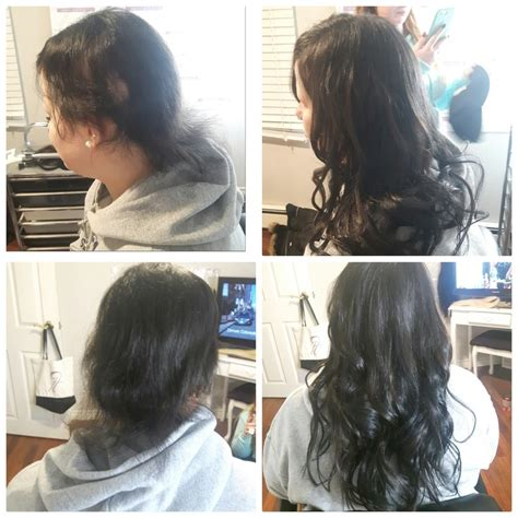 hair extensions for alopecia sufferers hairflair ca alopecia areata hair flair extensions