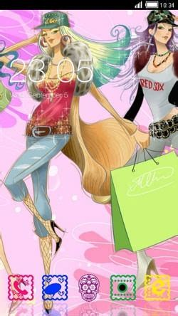 themes android girl download free girl rules clauncher android mobile phone