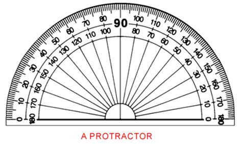Printable Protractor Half Circle | half circle protractor