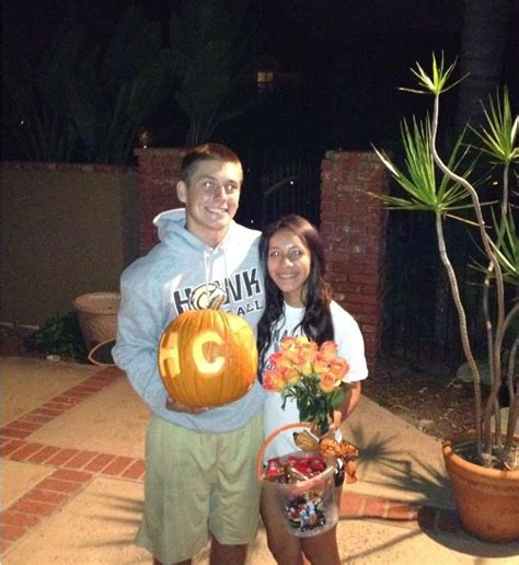 halloween themed dances homecoming dance proposal halloween themed carved