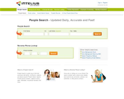 Intelius Phone Lookup Review Intelius Reviews Compare Search Sources