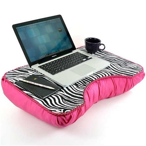 Pink Laptop Desk Pink Zebra Desk