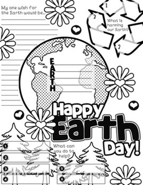 Activities Graphic 1 earth day graphic organizer activity poster freebie by