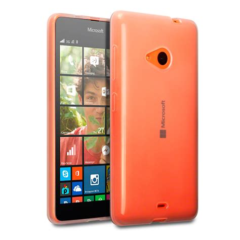 Casing Microsoft Lumia 535 Tpu Gel Cover For Microsoft Lumia 535 Clear
