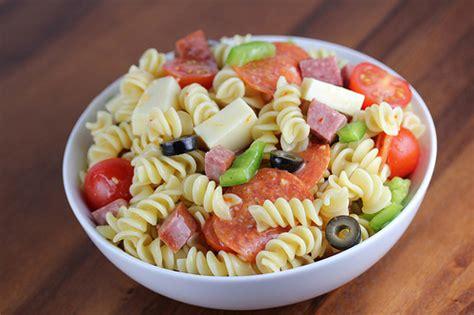 italian pasta salads recipes cold food ideas recipes