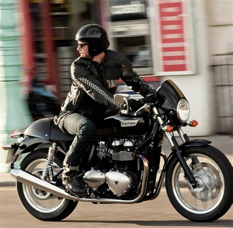 Triumph Motorrad Automatikgetriebe by Retro Motorr 228 Der Karriere Hipster Zahlen F 252 R Klassik