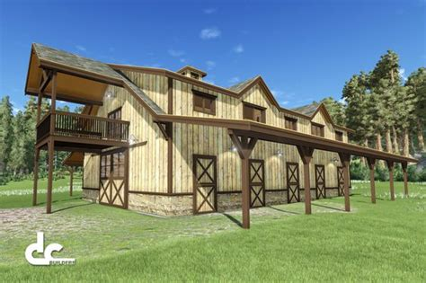 image result for barn living pole quarter with metal 60 horse barn with living quarters floor plan barn