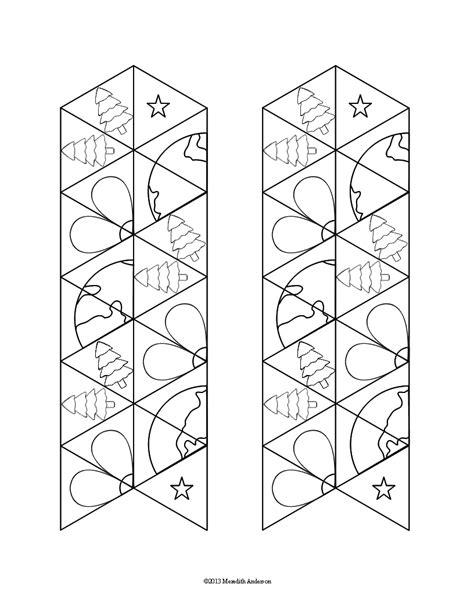 hexaflexagon template earth tri hexaflexagons momgineer