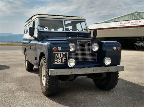 land rover other suv 1967 blue for sale 25112333d series