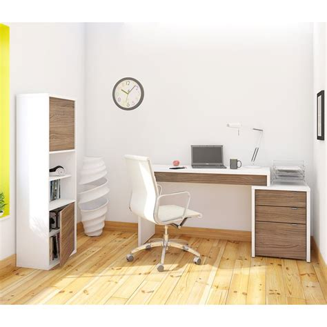 Home Office Suite Furniture Set Nexera 400459 Liber T Home Office Set Lowe S Canada