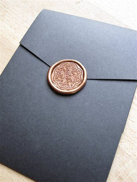 Unique Ways To Seal Wedding Invitations by Wax Seals Wax And Seals On