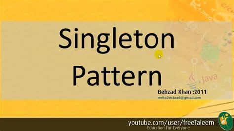 singleton pattern youtube prototype and singleton patterns creational patterns part