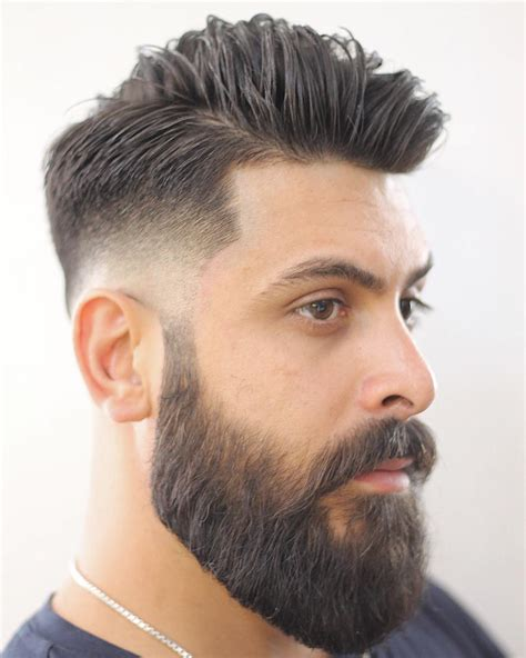 haircuts that go with beards 6 ways to wear a low fade haircut