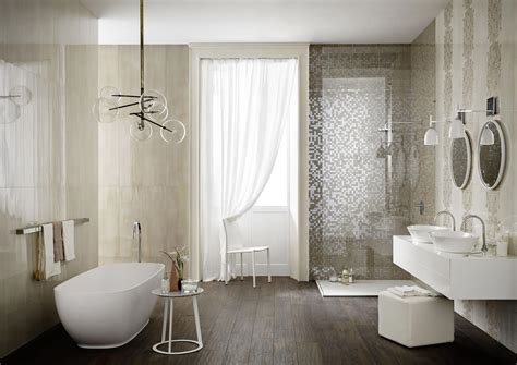 half bad design ideen imperfetto piastrelle bagno colorate marazzi