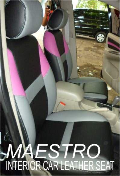 Sandaran Jok Mobil Motif Kayu Ford Ranger modifikasi jok mobil toyota innova 2012 dengan mbtech variasi tiga warna maestro