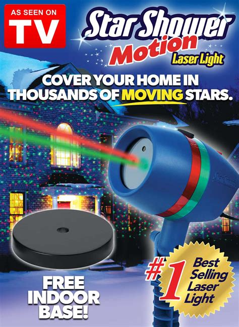 star shower laser light star shower motion laser light as seen on tv