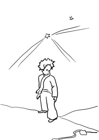 Le Petit Prince coloring pages to download and print for free
