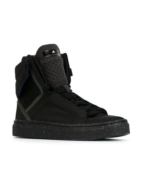 adidas by stella mccartney asimina hi top sneakers in