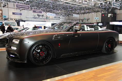 mansory rolls royce dawn mansory s 2017 geneva stand is anything but subtle carscoops