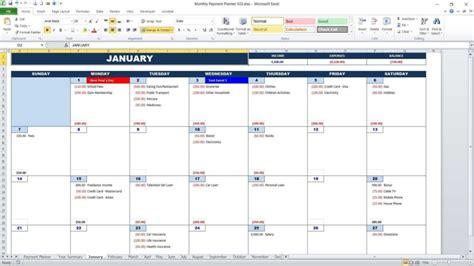 Bill Payment Calendar Bill Pay Calendar Template Free Mickeles Spreadsheet