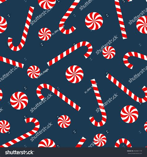 forgot pattern on android lollipop seamless christmas pattern candy cane lollipop stock