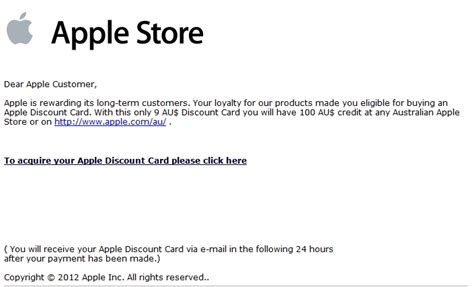 Itunes Gift Card Scan - beware scam emails claiming discount australian itunes gift cards lifehacker australia