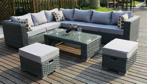 corner sofa garden furniture conservatory modular 8 seater rattan corner sofa garden