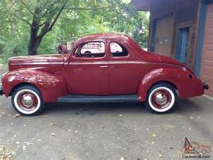 1940 ford coupe deluxe opera project restored classic new