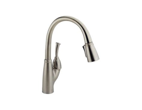 delta allora kitchen faucet delta faucet 989 ss dst allora single handle kitchen