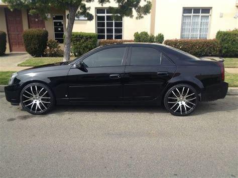 2006 black cadillac cts find used 2006 cadillac cts black on black sedan 4 door 3