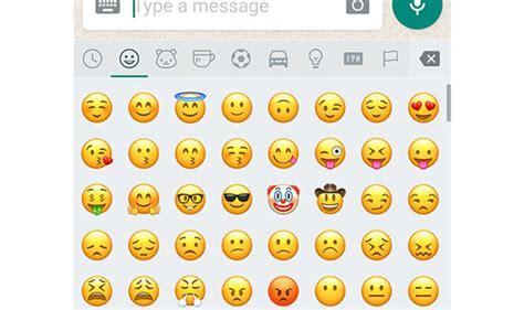 estos seran los nuevos emojis  habra en whatsapp