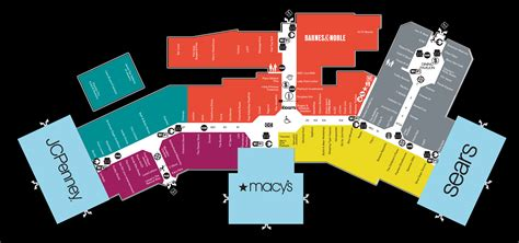 park city mall map mall map of park mall a simon mall mishawaka in