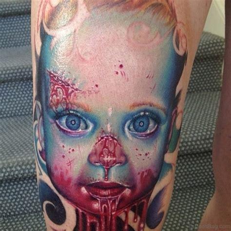 tattoo 3d zombie 51 horror zombie tattoos for leg
