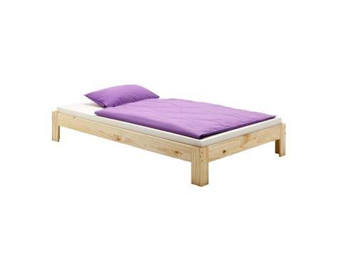 conforama futon lit futon 140 x 190 cm vernis naturel vente de