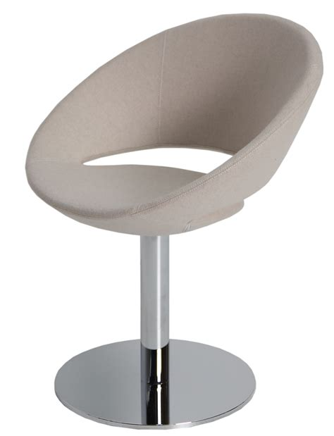 crescent dining chair swivel soho concept furniture