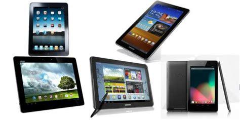 Tablet Terbaik 3 tablet terbaik tahun 2013