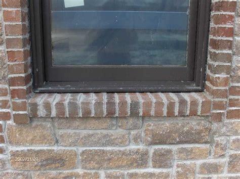 Masonry Window Sill Brick And Installation For Dan Hossack Icf