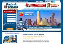 benjamin franklin plumbing in mckinney tx 972 562 1776