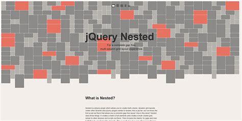 nested layout js web design resources jquery plugins css grids frameworks